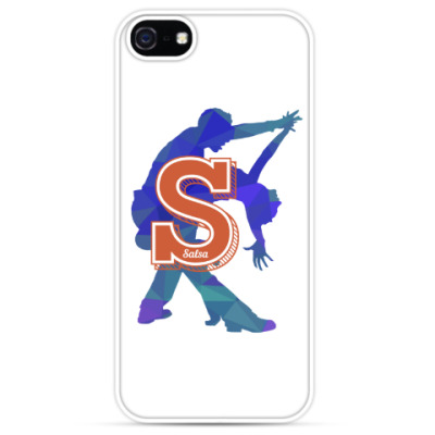 Чехол для iPhone Азбука танцев: сальса