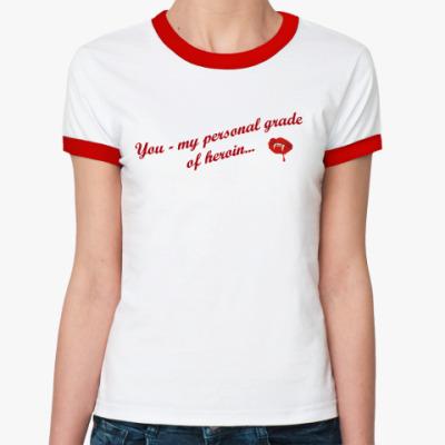 Женская футболка Ringer-T  женская ()