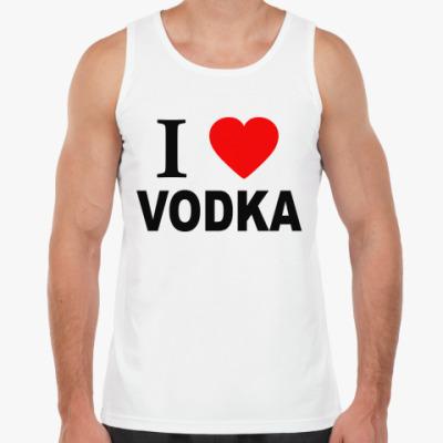 Майка i love vodka