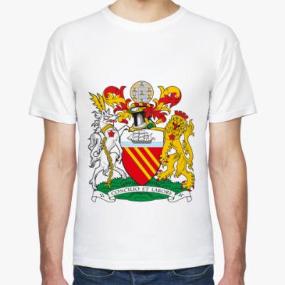 Футболка Герб города Манчестера