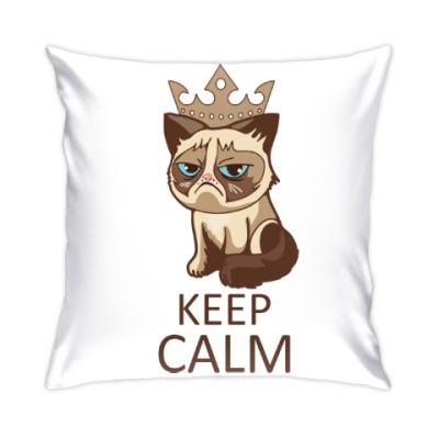 Подушка Угрюмый кот Тард
