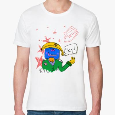 Футболка из органик-хлопка MegaMeat ^^