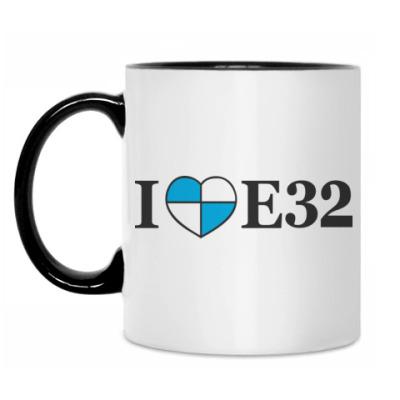 Кружка I love E32