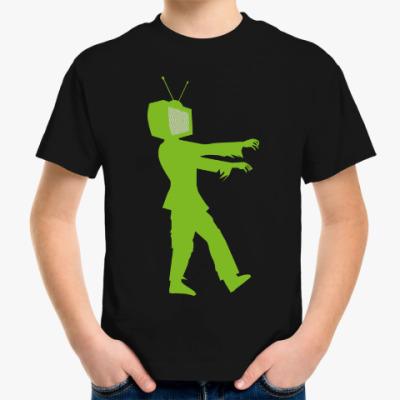 Детская футболка Зомби ТВ