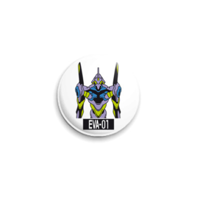Значок 25мм  'Eva-01'