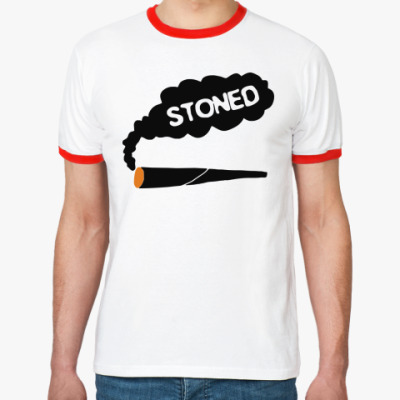 Футболка Ringer-T stoned