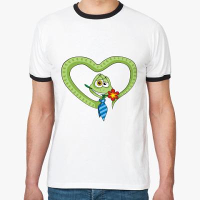 Футболка Ringer-T Змей