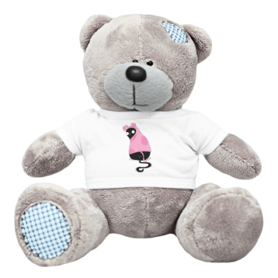 Плюшевый мишка Тедди Кот в костюме собаки