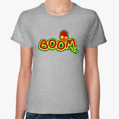 Женская футболка Boom Man