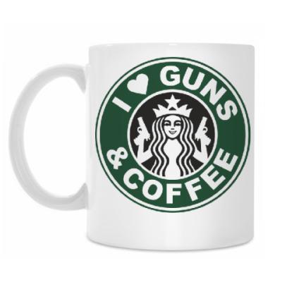Кружка Guns & coffee
