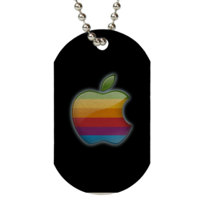 Жетон dog-tag Apple
