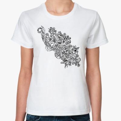 Классическая футболка узоры души
