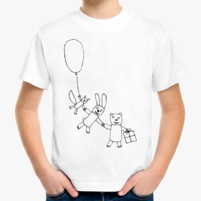 Детская футболка 'Звери'