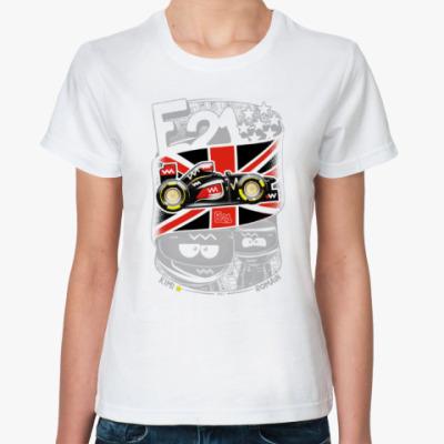 Классическая футболка Е21