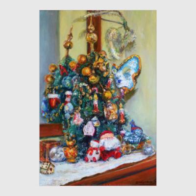 Постер 'Скоро Новый год'