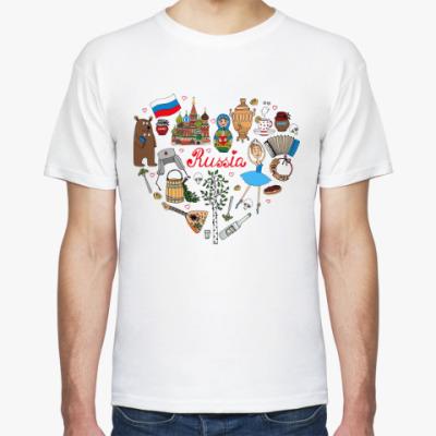 Футболка Россия (Russia)