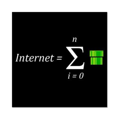Наклейка (стикер)   Интернет
