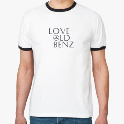 Футболка Ringer-T  'Love Old Benz'