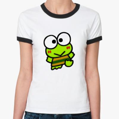 Женская футболка Ringer-T Nature elements