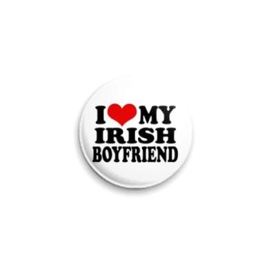 Значок 25мм  'I lv my Irish'