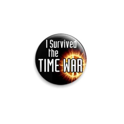 Значок 25мм Time War