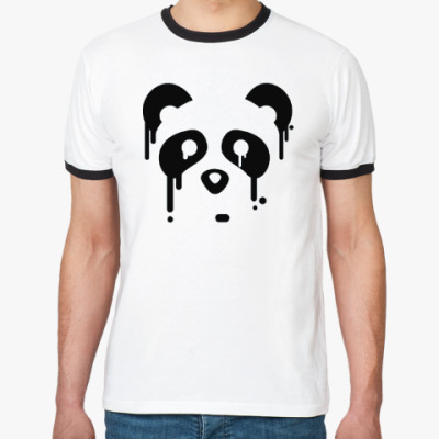 Футболка Ringer-T Унылая панда