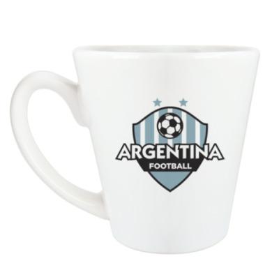 Чашка Латте Футбол Аргентины