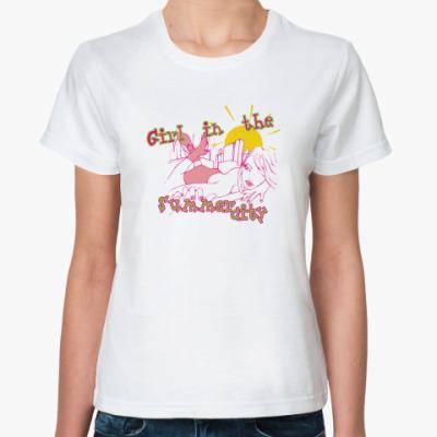 Классическая футболка Girl in the Summer