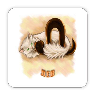 Костер (подставка под кружку) Лев