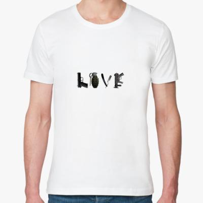 Футболка из органик-хлопка Love gun