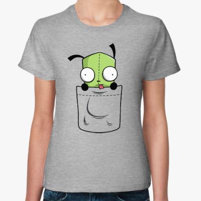 Женская футболка Invader Zim