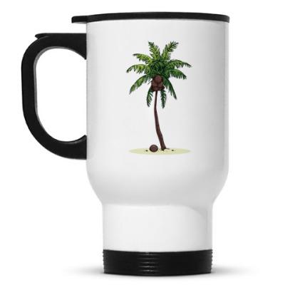Кружка-термос Кокосовая пальма