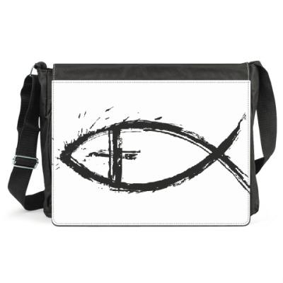 Сумка Христианская рыбка