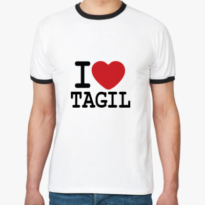 Футболка Ringer-T I Love Tagil