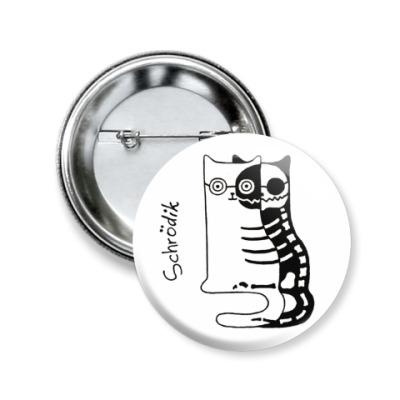 Значок 50мм Shredik из серии 'Science cats'