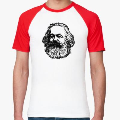 Футболка реглан   Карл Маркс
