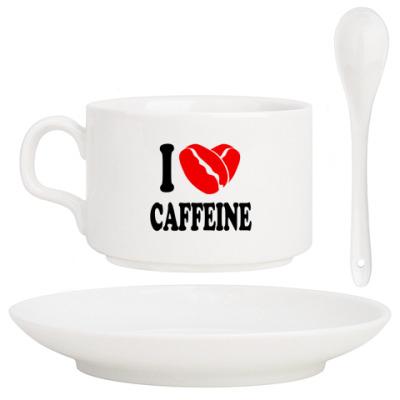 Кофейный набор Я люблю Кофе