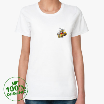 Женская футболка из органик-хлопка (ж) Чувака