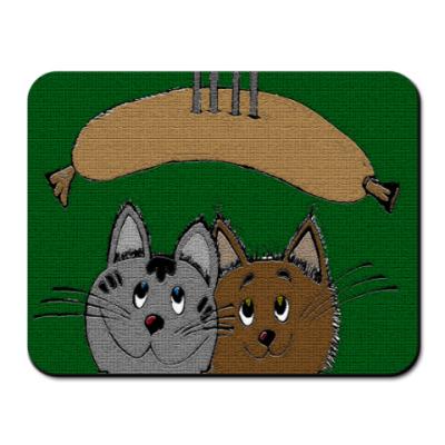 Коврик для мыши ' С сосиской'