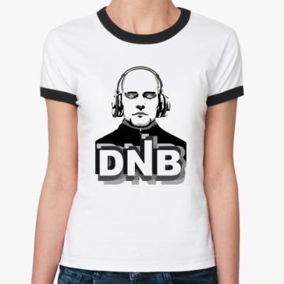Женская футболка Ringer-T DnB