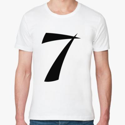 Футболка из органик-хлопка номер 7