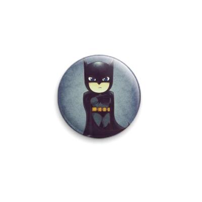 Значок 25мм бэтман