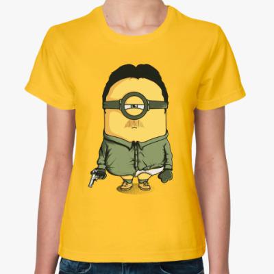Женская футболка Миньон Гейзенберг