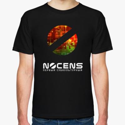 Футболка Футболка с лого NoCENS.RU, чер