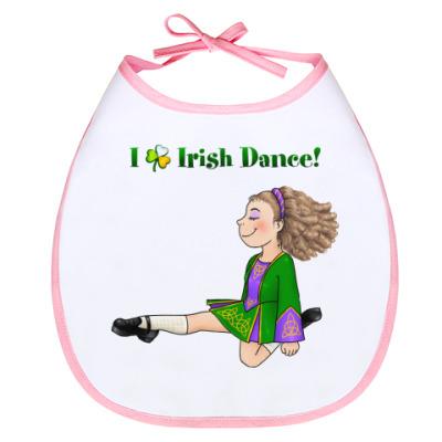 Слюнявчик Irish dance!