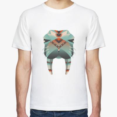 Футболка Геометрический морж