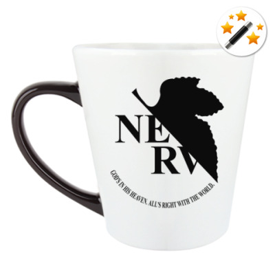 Кружка-хамелеон Neon Genesis Evangelion NERV