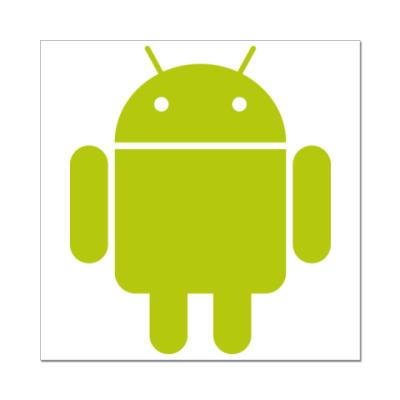 Наклейка (стикер)  Android