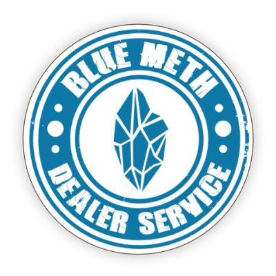 Костер (подставка под кружку) Blue Meth Dealer