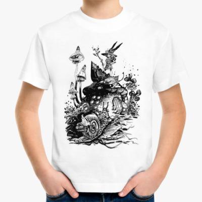 Детская футболка Улитка